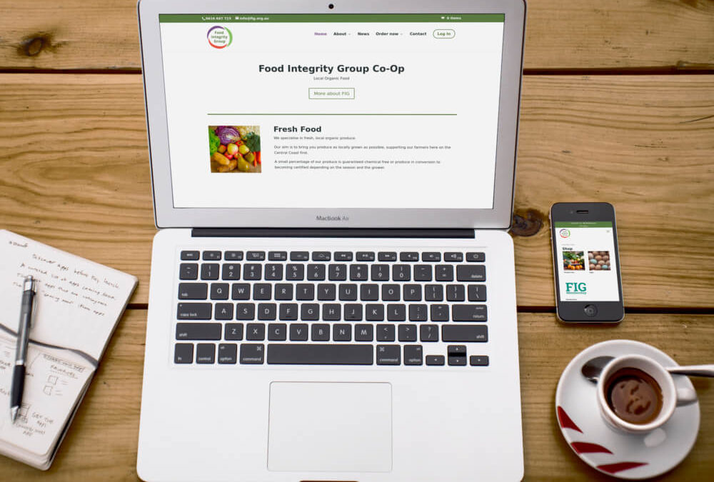 Faster checkout in the FIG website online store