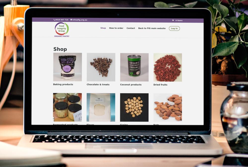 New Organic Pantry online store